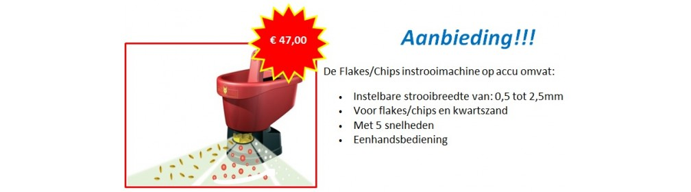 Flakes Chips Instrooimachine